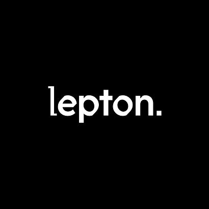 Lepton Electronic Music Promoter Branding