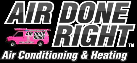 Air Done Right Inc. Logo