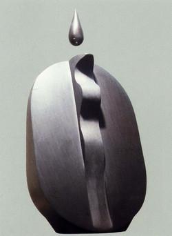 1989 「水紋 130」ベルギー産黒大理石