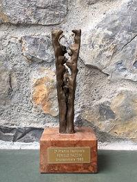 1990年Pericle Fazzini記念トロフィー.JPG