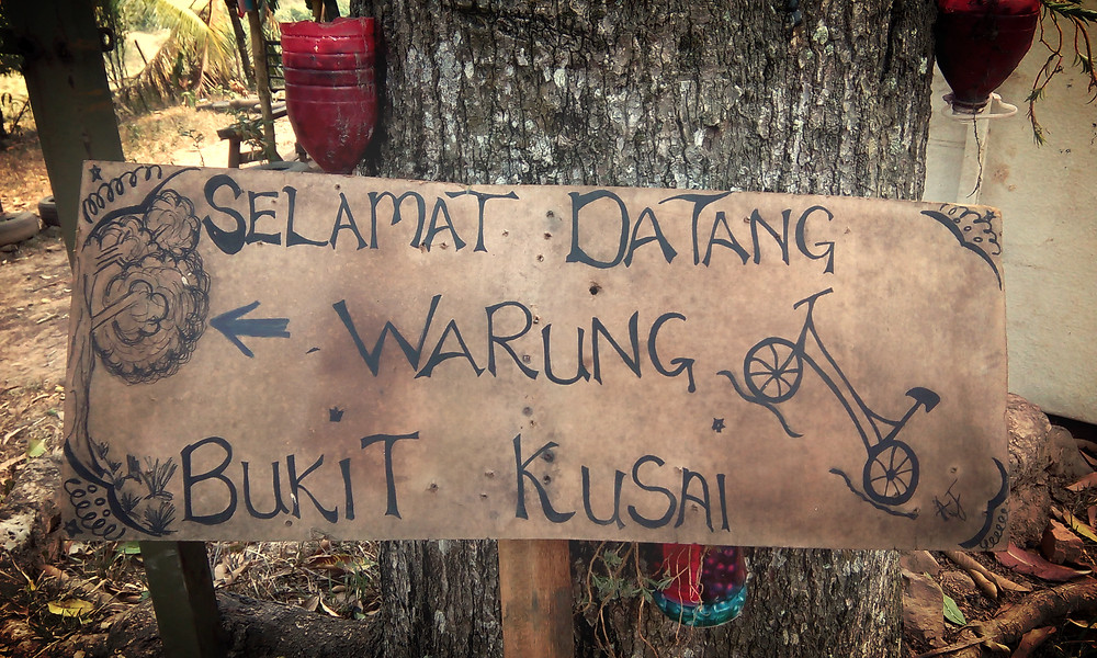 Bukit Kusai Borneo style Cafe.
