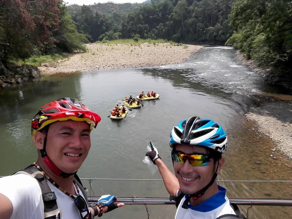 View From Hanging Bridge Kiulu raft