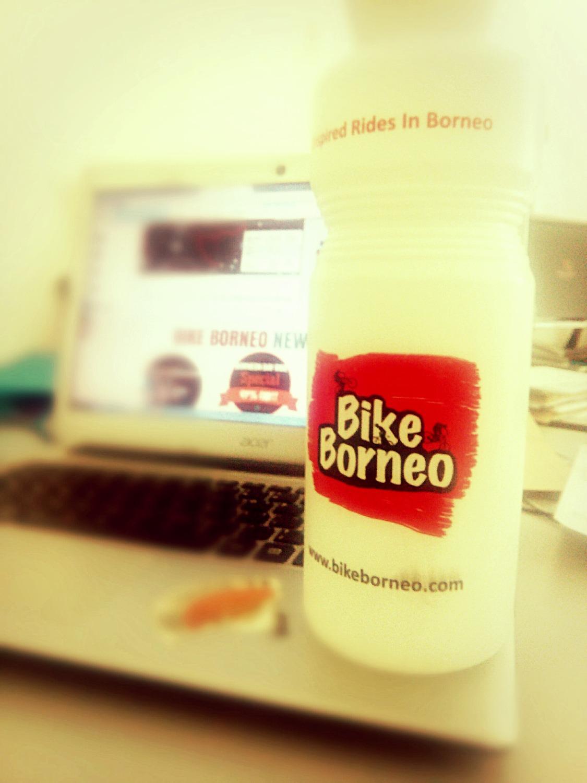 Limited edition Bike Borneo squeeze