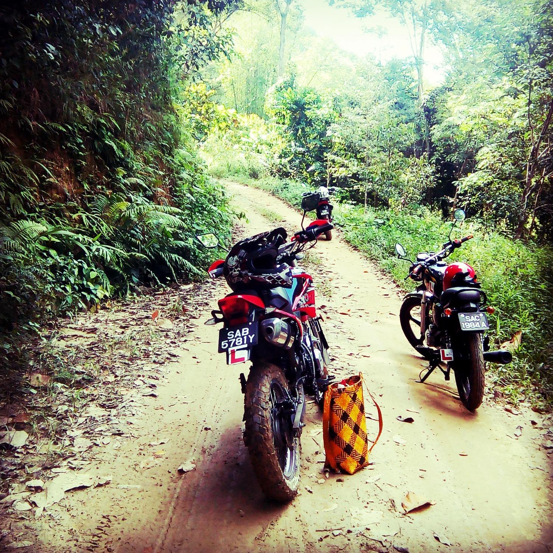 Bike Borneo team motard