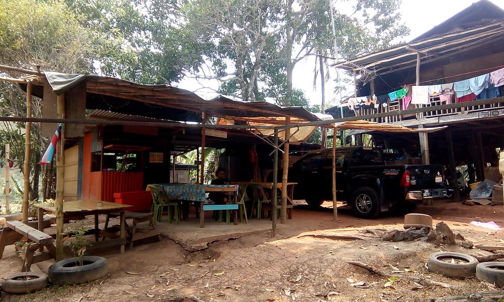 Borneo style Cafe.