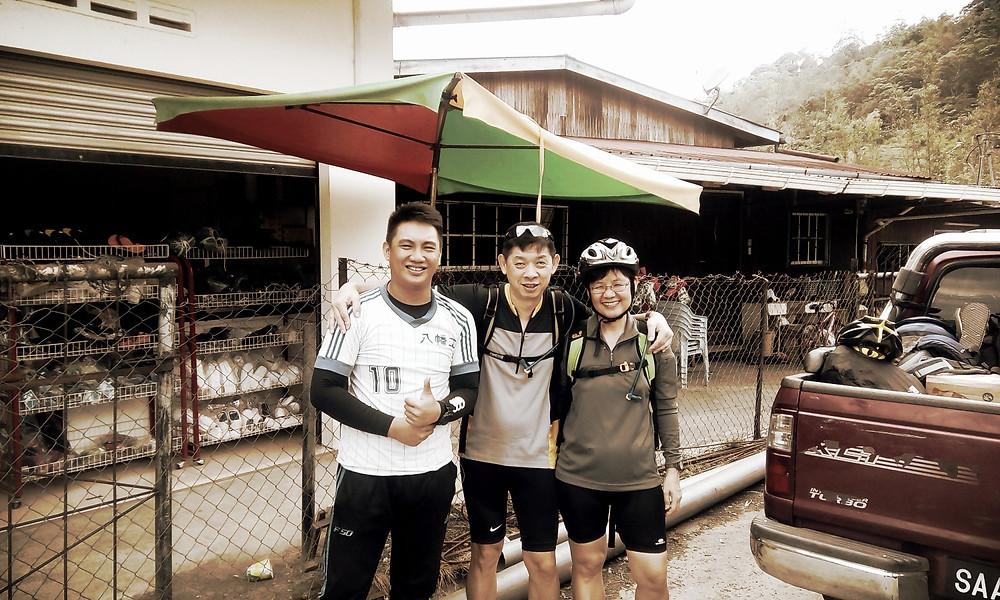 Jeff, Mr Tan and Mrs Tan