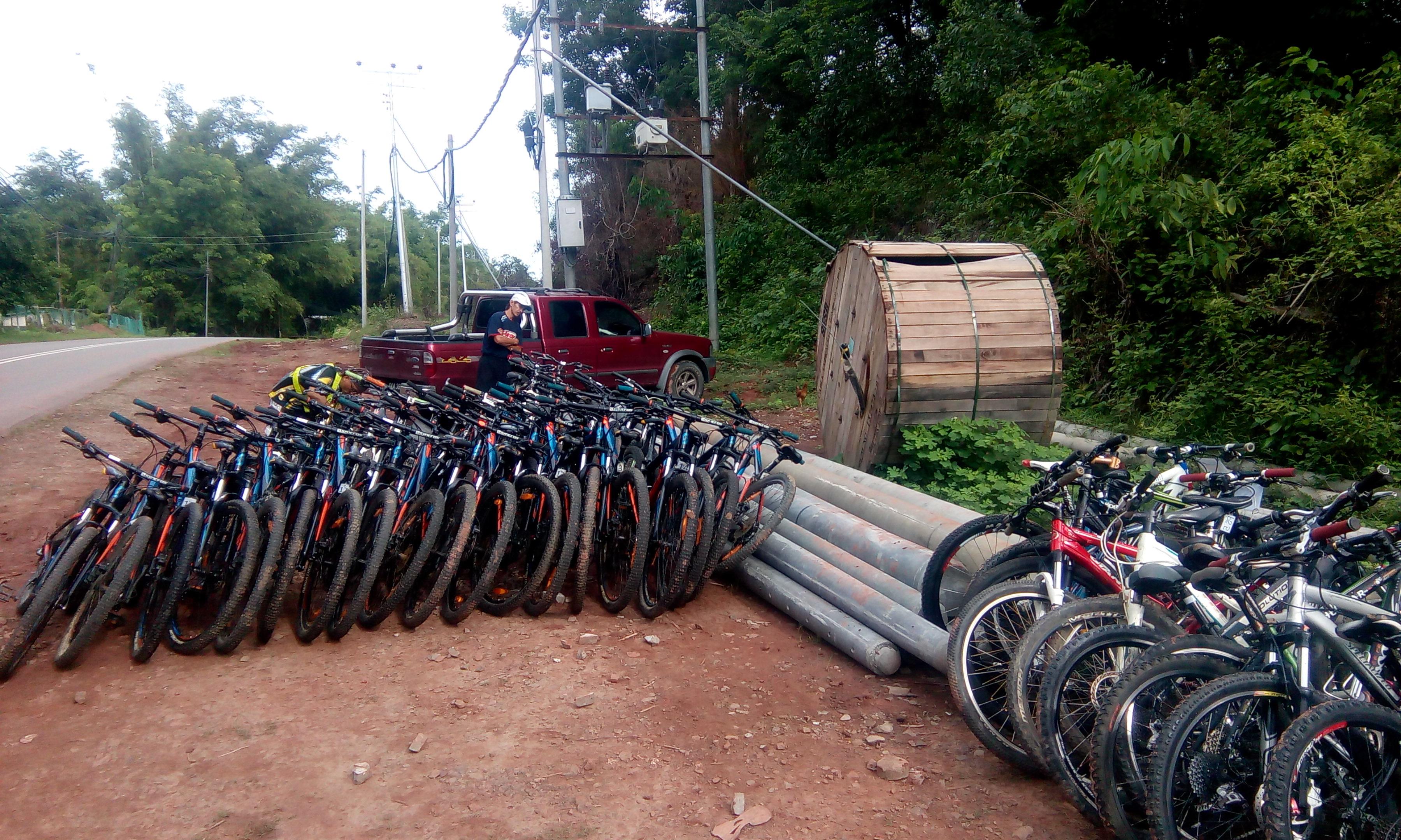 Bike Borneo 60 riders