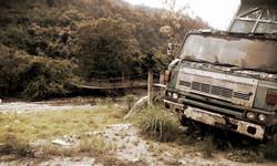 Bike Borneo defeated truck