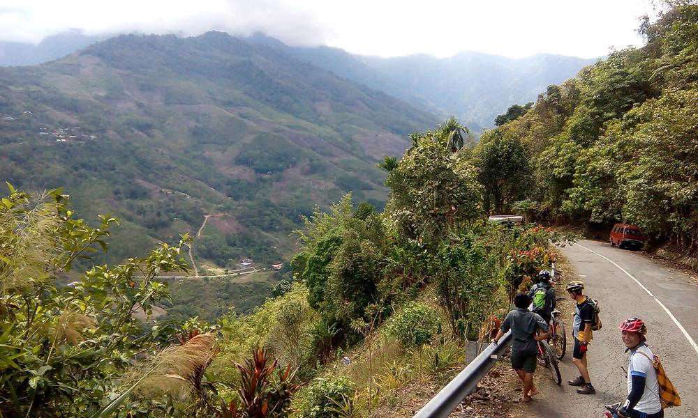 View of Kampung Kaung