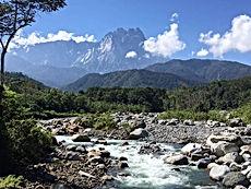 The Magestic Mount. Kinabalu