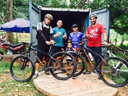 Bike Borneo best team ever