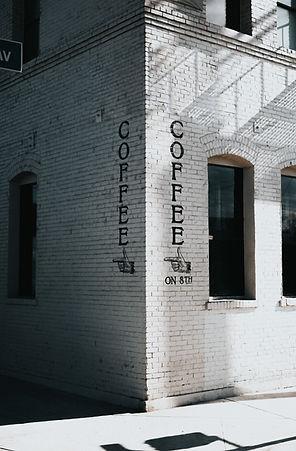 Кирпичный дом кофе