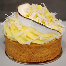 Tortinha de Limão com Doce de Leite e Chocolate Branco com Coco
