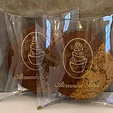 Cookie de Aveia com Cranberry e Chocolate ao Leite