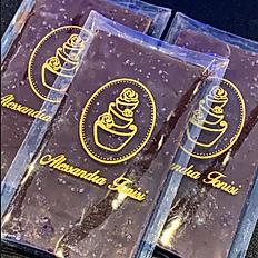 Barra de Chocolate Meio Amargo com Flor de Sal