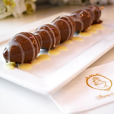 Espeto de Morango com Chocolate