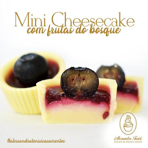Mini Cheescake com frutas do bosque