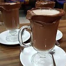 Chocolate Quente com Borda de Nutella 120ml