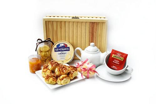 Cesta Chá Gourmet