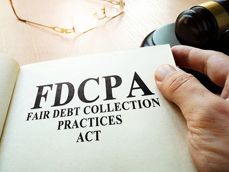 FDCPA Act Prohibits Misrepresentation of Attorney's Involvement in Collection Activity