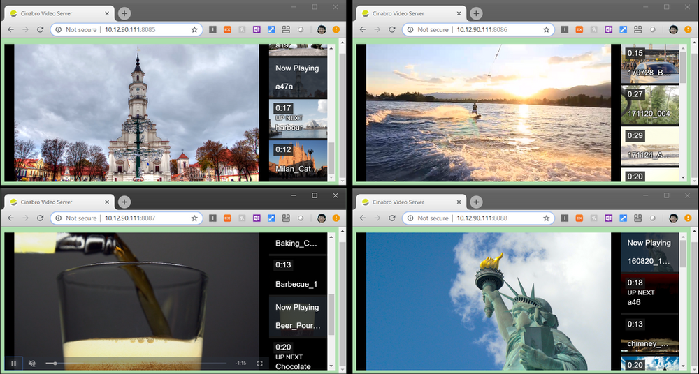 Video streaming application on SPDK OCSSD
