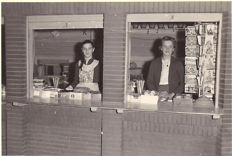 Yvette Vandermeersch en Christiane Feys