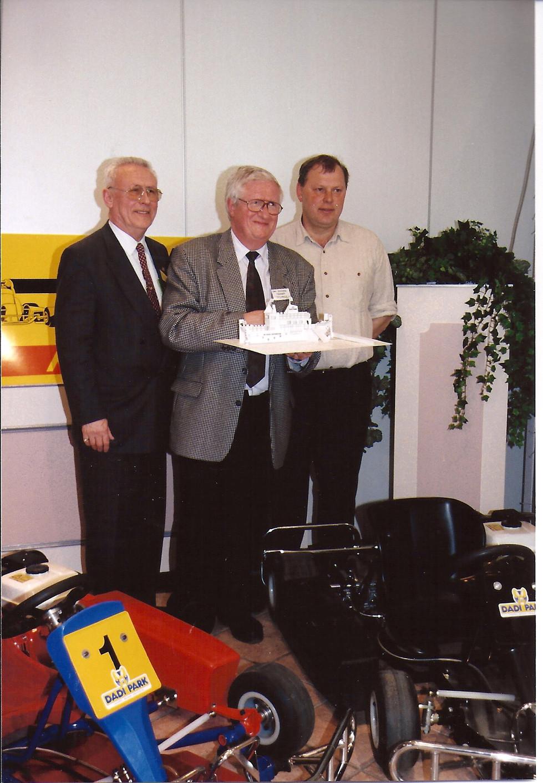 Noël Demeyere op persconferentie 2000 A