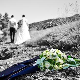 Brautpaar an der Erlauf