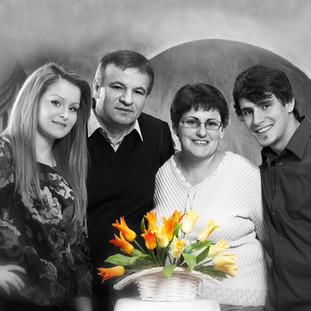 Familienaufnahme