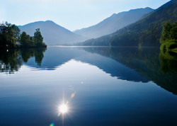 Lunzer See_Ruhe am Morgen