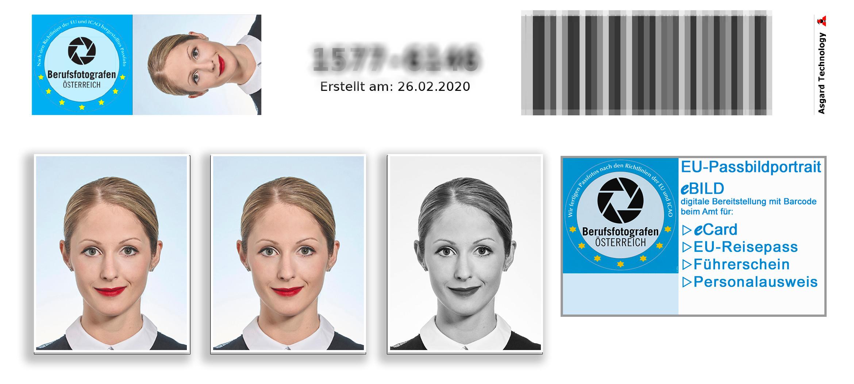 EU-Passbild | NEU mit eBild