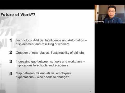 Reimagining Education Under the Challenges of COVID and Future of Work (by Brian Cheng) (2 of 2)