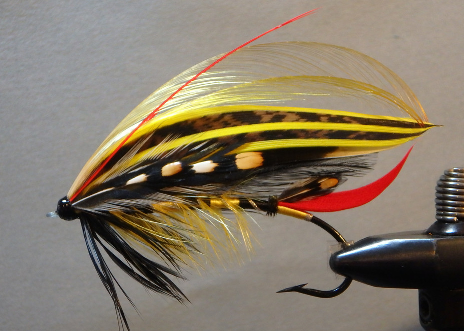 Unnamed Fly Pattern from the 19th Century #3 First Round