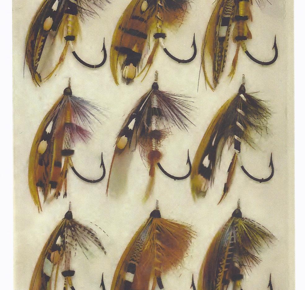 How to Dress Salmon Flies Plate 1