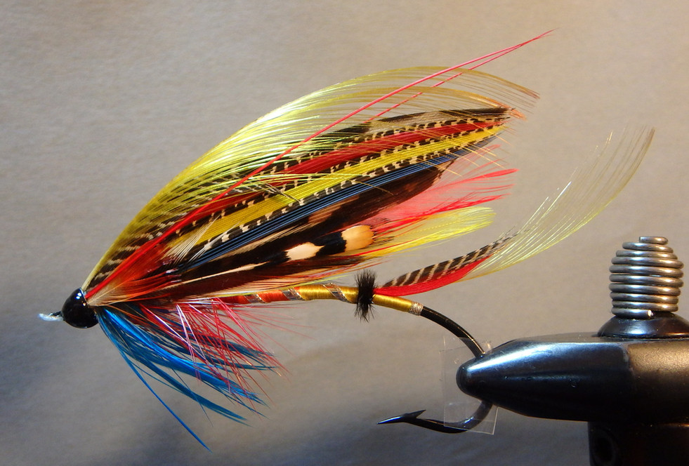 Unnamed Fly Pattern from the 19th Century #1 Second Round
