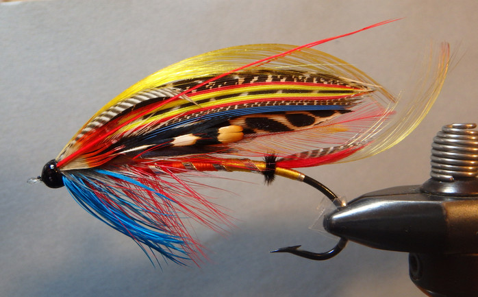 Unnamed Fly Pattern from the 19th Century #1 First Round