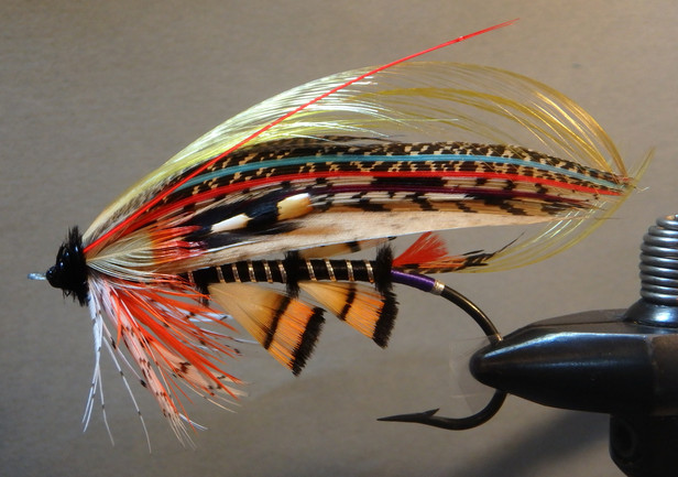 Unnamed Fly Pattern from the 19th Century #2 First Round