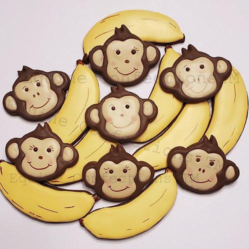 Monkeys and Bananas (Banana flavored)