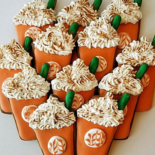 Pumpkin Spice Frappes