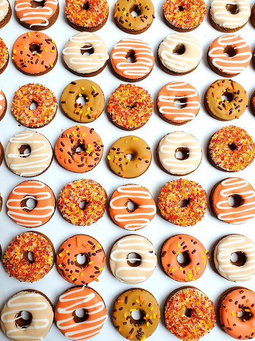 Mini Fall Donut Bites