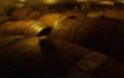 Barrels in the cellar.