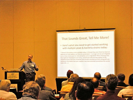 2011 - Yeast & Bacteria Pairing talk, Winemaker Magazine conference