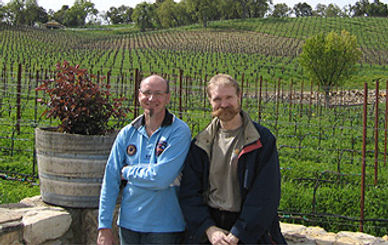 With Dominique Delteil (ICV) - Paso Robles, CA