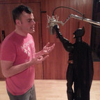 Vocals with Marc Martel @ Centricity Studios.