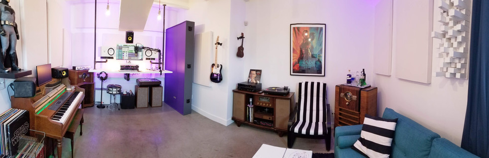 Panorama of The Lake Country Mixing Studio