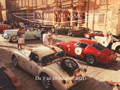 Malta Classic - Réservez votre weekend du 7 au 10 octobre 2021