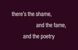 #shame #fame #poetry