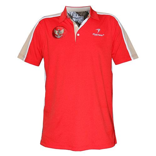 Polo Garuda Red/Red