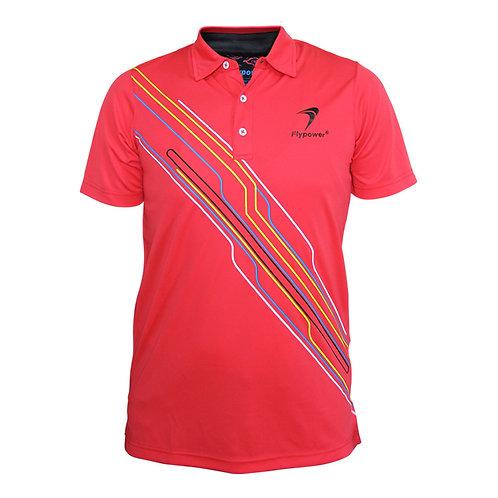 Polo Garis 2 Red Neon