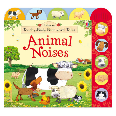 Usborne Touchy-Feely Farmyard Tales Animal Noises
